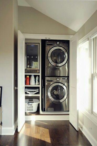 hallway+nook+laundry+closet